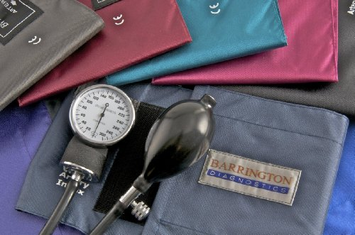 Image of Classic Sphygmomanometer Available In Six Colors - Latex Free Royal Blue (B00794T3CQ)