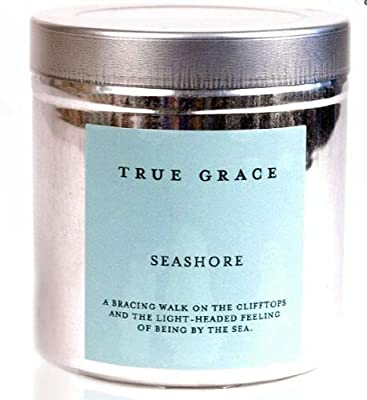 True Grace Walled Garden Natural Scented Candle Tin - Seashore from True Grace