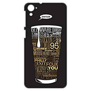 a AND b Designer Printed Mobile Back Cover / Back Case For HTC Desire 826 (HTC_826_3D_924)