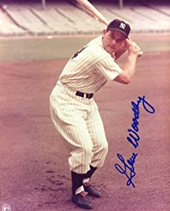 Gene Woodling (D.) Autographed  Original Signed 8x10 Color Photo Showing Him in a New... by Original Sports Autographs