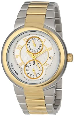 "Philip Stein Women's 31TG-AGW-TGSS ""Active"" Gold-Plated Two-Tone Watch"