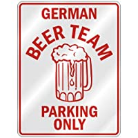 """ German Beer Team Parking Only "" Parking Sign Country Germany by topexpressions"