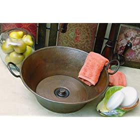 Mini Cazo Sink with Handles