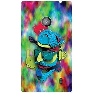 Nokia Lumia 520 Colorful Matte Finish Phone Cover - Matte Finish Phone Cover