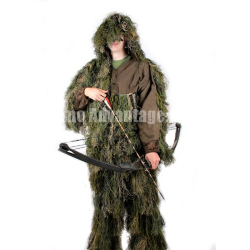 Delta Bow Hunting Woodland Ghillie Suit