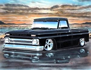 Amazon.com: 1964 65 66 Chevy C10 Fleetside Pickup Classic