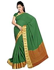 Roopkala Chiffon Plain Saree