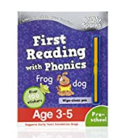 Bright Sparks First Reading with Phonics