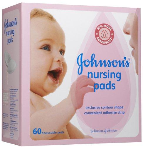 Johnson's Contour Nursing Pads, 60 Pads