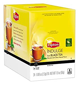 Lipton  K-Cups, Indulge Black Tea 24 ct