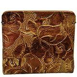 [アルカン] Arukan 財布 フローラ コインケース スリム 革 ローズ柄型押し 1358319 ランキングお取り寄せ