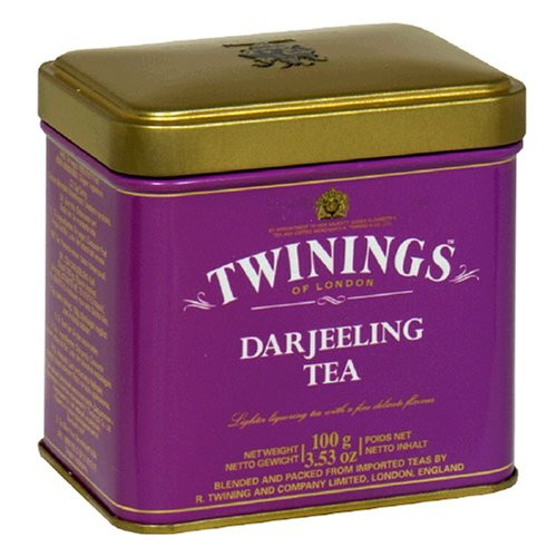 Buy Twinings Darjeeling Tea, Loose Tea, 3.53-Ounce Tins (Pack of 6) (Twinings, Health & Personal Care, Products, Food & Snacks, Beverages, Tea, Black Teas, Loose Tea)