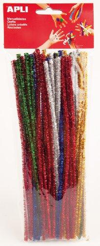 apli-sachet-de-50-chenilles-couleurs-assorties-brillantes-30-cm