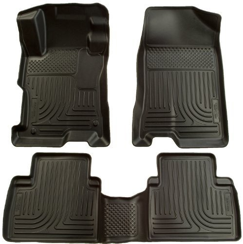 Husky Liner 98531 WeatherBeater Floor Liner BLACK 09-11 Vibe Corolla Matrix (2012 Toyota Corolla Trunk Liner compare prices)