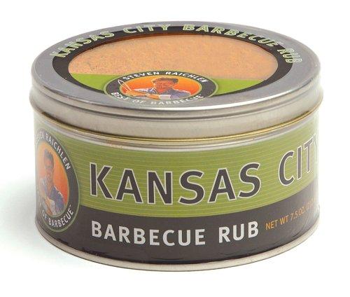 Steven Raichlen SR8082 7.5-Ounces Barbecue Rub, Kansas City