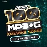 Zoom Karaoke - Zoom Karaoke MP3+G Disc - 100 Songs - Pop Hits 2012 & 2013 [DVD AUDIO]