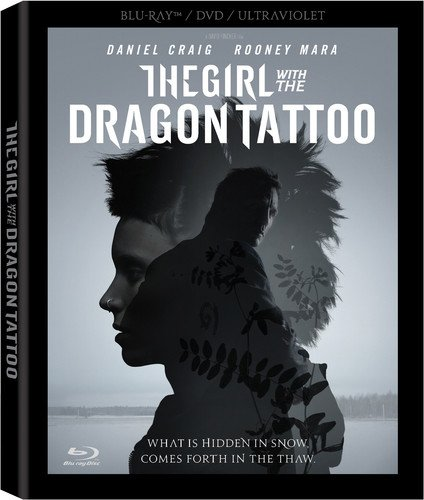 Blu-ray : The Girl With the Dragon Tattoo (Ultraviolet Digital Copy, Boxed Set, Dubbed, Dolby, AC-3)