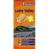 Mapa Regional Loire Valley (Michelin Regional Maps)