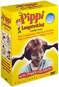 The Pippi Longstocking Collection Pippi Longstocking Pippi Goes On Board Pippi In The South Seas Pippi On The Run from Henstooth Video
