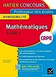 Concours professeur des écoles 2015 - Mathématiques - Epreuve écrite d'admissibilité
