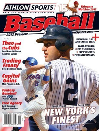 2012 Athlon Sports MLB Baseball Preview Magazine- New York Yankees/New York Mets Cover at Amazon.com