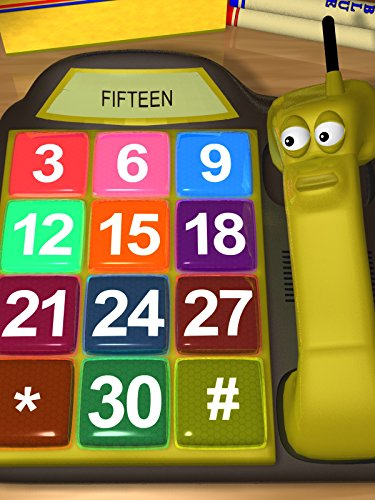 Counting by 3's Phone - Learning to Count by Three for Kids
