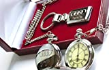 Audi TT Silver Plated Keyring and Pocket Watch Luxury Gift Set Quattro 3.2 Coupe Audi TT Roadster TT 180