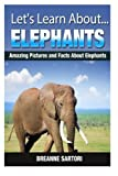 Elephants: Amazing Pictures and Facts About Elephants (Let's Learn About)