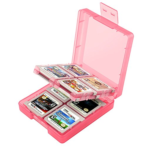 Insten Game Card Case For Nintendo 3DS/ DS/ DS Lite/ DSi/ DSi LL/ DSi XL/ Nintendo New 3DS, Light Coral (Gameboy Advanced Games Used compare prices)