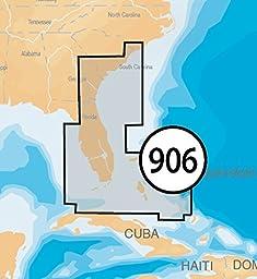 Navionics Platinum Plus 906P+ US Southeast and Bahamas Marine Charts on SD/MSD
