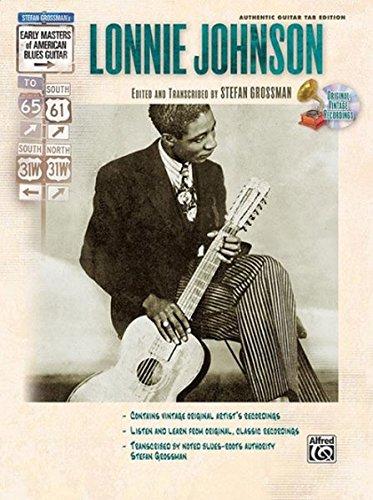 Stefan Grossman's Early Masters of American Blues Guitar: Lonnie Johnson, Book & CD