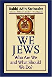We Jews: Who Are We and What Should We Do