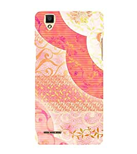 Abstract Painting 3D Hard Polycarbonate Designer Back Case Cover for Oppo F1
