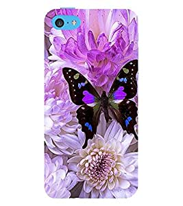 Vizagbeats butterfly on flowers Back Case Cover for Apple iPhone 6S