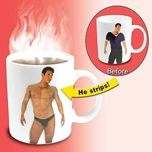 Disappearing Shirt Mug