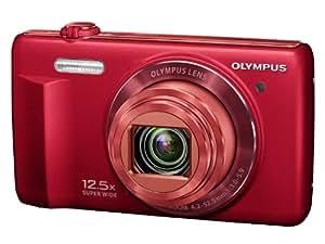 Olympus Stylus VR-370 Appareil photo numérique 16 Mpix Zoom optique 12,5x Rouge
