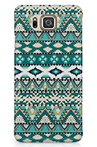 GeekCases Aztec Green Back Case for Samsung ALPHA