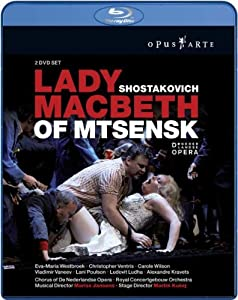 Shostakovich Lady Macbeth Blu-ray 2009region Free by OPUS ARTE