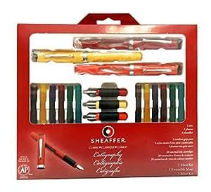 Sheaffer R Calligraphy Kit Set Of 7