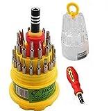 Tool Kit 31 In 1: Magnetic Screwdriver Set Repair Tool Kit