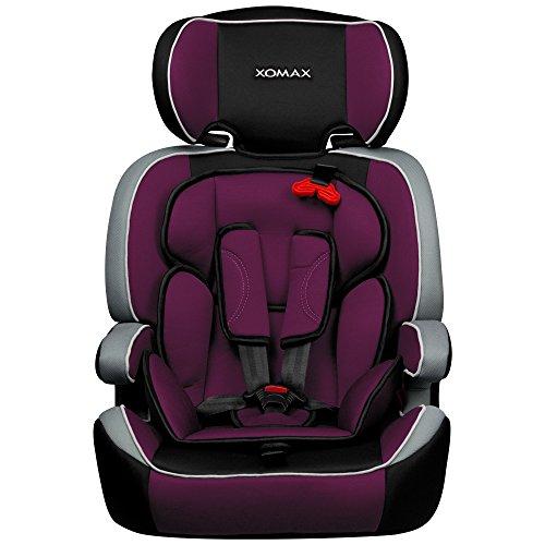 preisvergleich und test xomax xm k1 purple autokindersitz. Black Bedroom Furniture Sets. Home Design Ideas