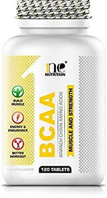 1ne Nutrition BCAA (Branch Chain Amino Acids) 120 Tablets