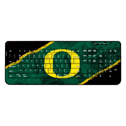 Oregon Ducks Wireless Usb Keyboard Brick Ncaa