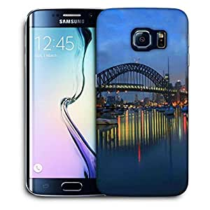 Snoogg Colorful Night Printed Protective Phone Back Case Cover For Samsung Galaxy S6 EDGE / S IIIIII