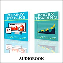 Stock Trading : Two Manuscripts - Penny Stocks & Forex Audiobook by Luke Sutton Narrated by Dave Wright