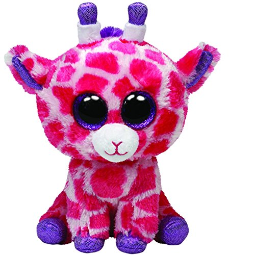 Ty Beanie Boos Buddies Twigs Pink Giraffe Medium Plush - 1