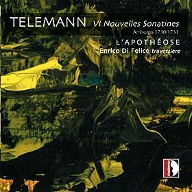 Telemann: 6 Nouvelles Sonatines