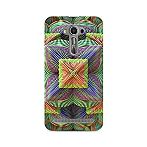 Mobicture Pattern Premium Designer Mobile Back Case Cover For Asus Zenfone 2 Laser ZE500