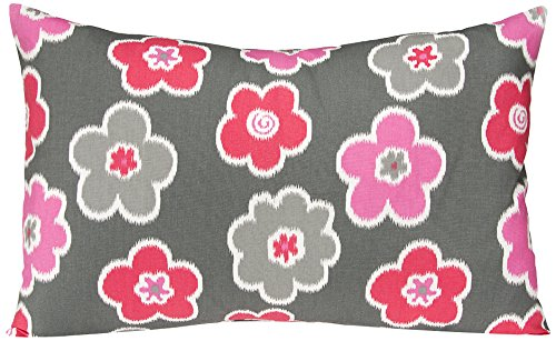 Sweet Potato Addison Small Sham Bedding Set, Pink/Grey/Charcoal/Watermelon/White