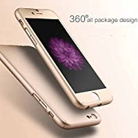 Premium 360 Degree Protective Slim Fit Case Cover For IPhone 6 & 6S (GOLD)